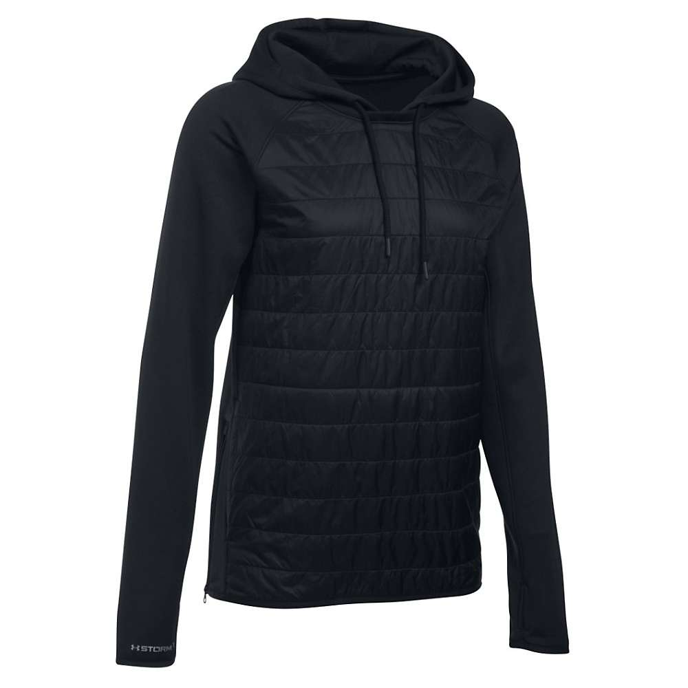 Under Armour Women's Storm Swacket Hoodie - Small - Black / Black / Silver