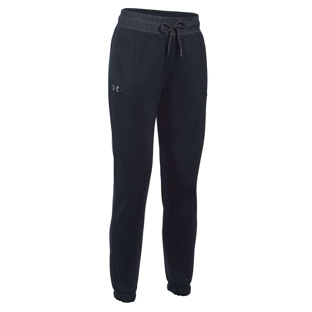 Under Armour Women's Swacket Pant - XL - Black / Black / Metallic Silver