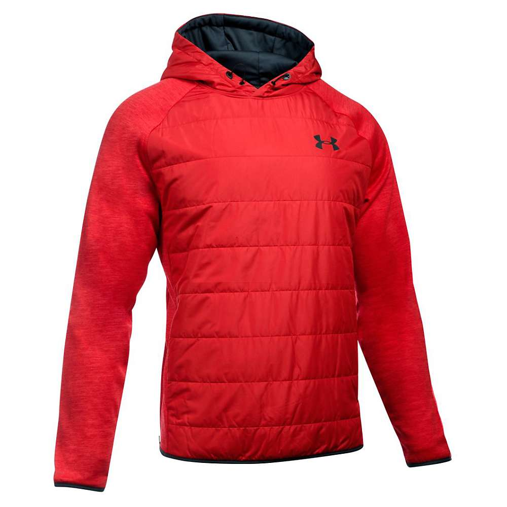 Under Armour Men's Swacket Insulated Popover Hoodie - XXL - Red / Red / Black