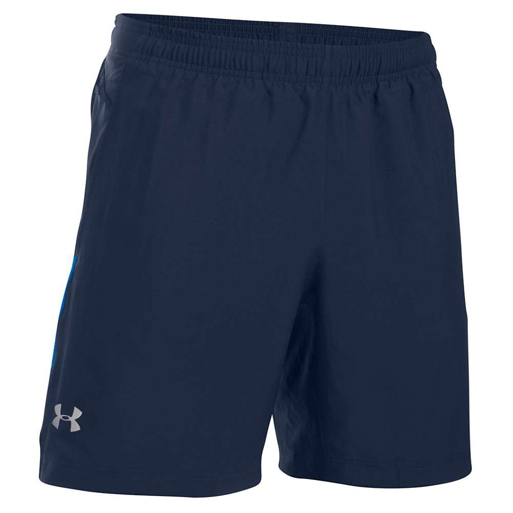 Under Armour Men's UA Launch 2-In-1 Short - XXL - Midnight Navy / Ultra Blue / Reflective