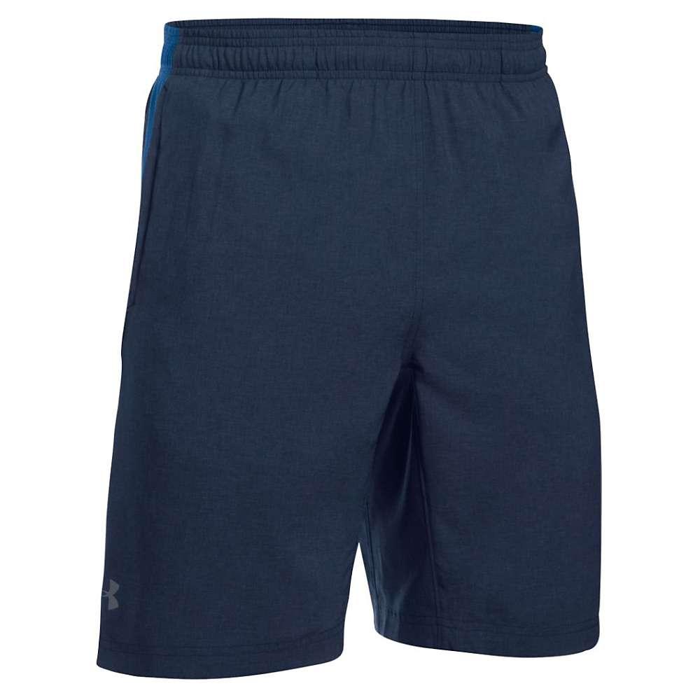 Under Armour Men's UA Launch 9IN Novelty Short - Medium - Midnight Navy / Ultra Blue / Reflective