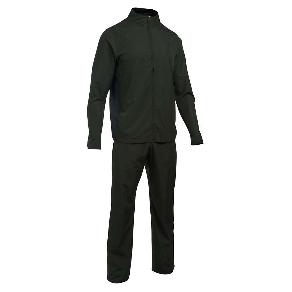 Under Armour Men's Vital Warmup Suit - XL - Artillery Green / Black / Black