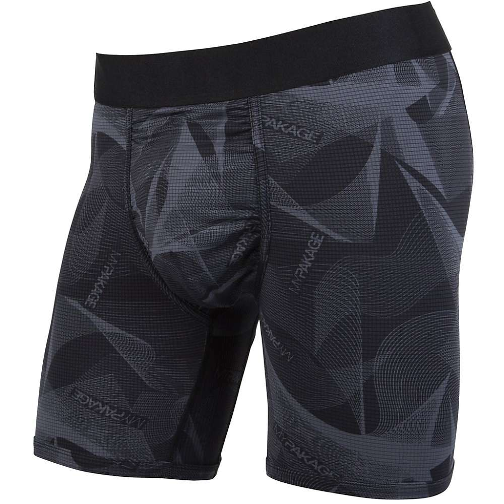 MyPakage Men's Action Series Boxer Brief - XS - Stealth / Black