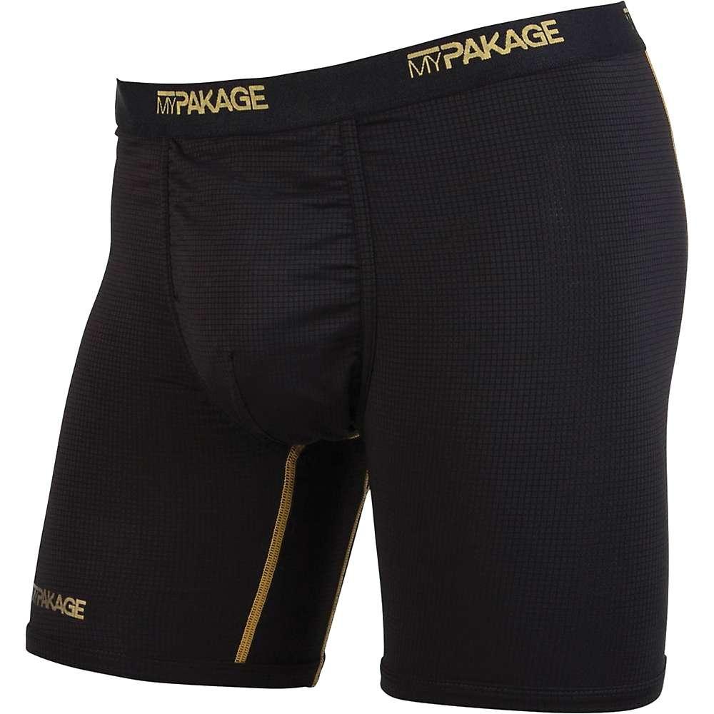 MyPakage Men's Pro Series Boxer Brief - Small - Black / Gold