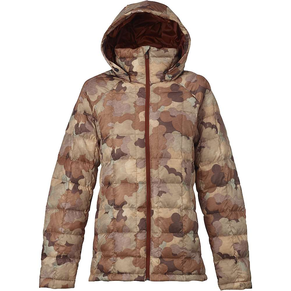 Burton Women's [ak] Baker Down Insulator Jacket - Large - Storm Camo thumbnail