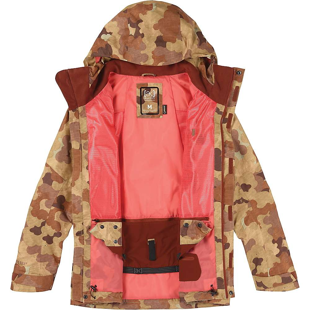 Burton Women's [ak] GORE-TEX 2L Altitude Jacket - Small - Storm Camo thumbnail