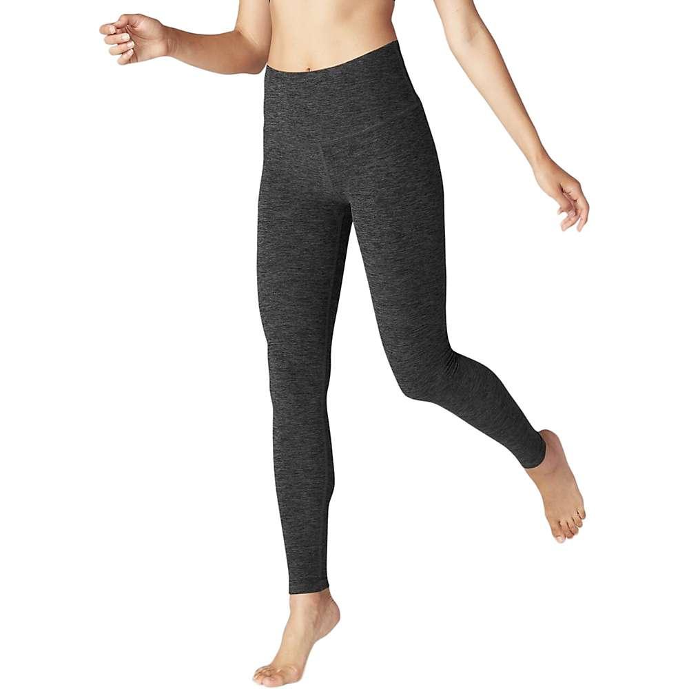 Beyond Yoga Women's Spacedye High Waist Long Legging - XL - Black / Charcoal Space Dye