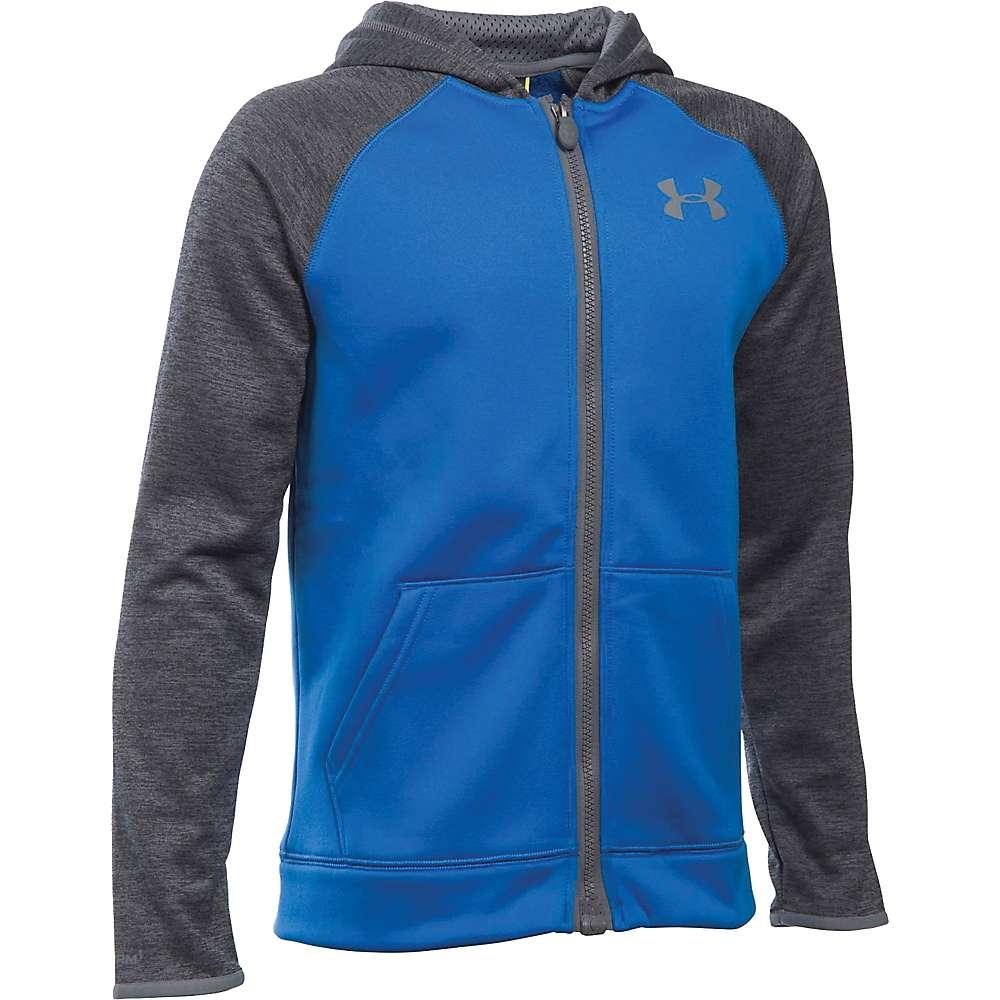 Under Armour Boys' Armour Fleece Storm MagZip Hoodie - XL - Ultra Blue / Graphite / Graphite