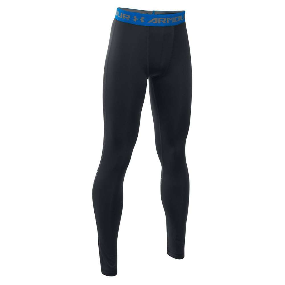 Under Armour Boys' Armour Up Legging - Large - Black / Graphite / Ultra Blue