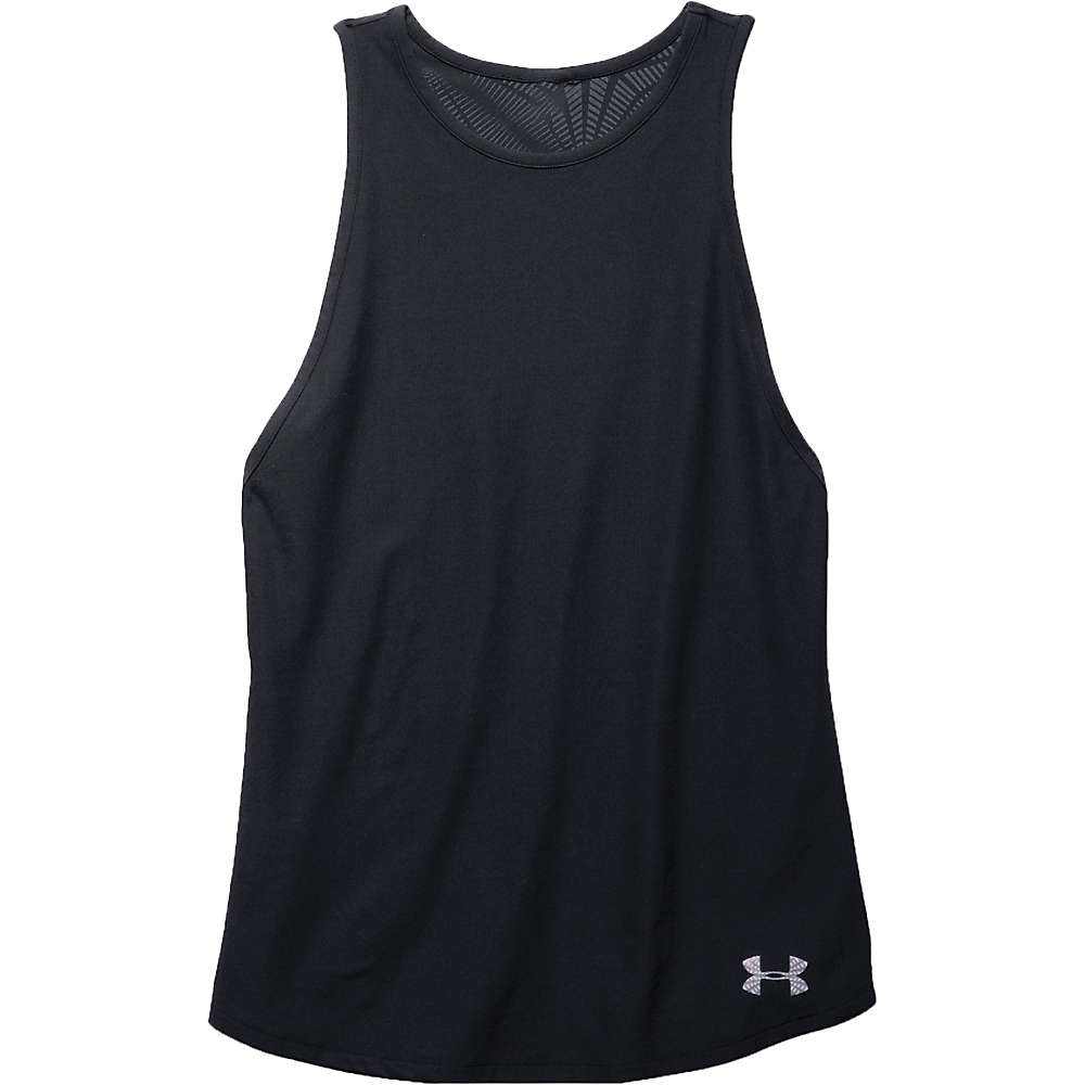 Under Armour Women's Coolswitch Muscle Tank - XL - Black / Reflective
