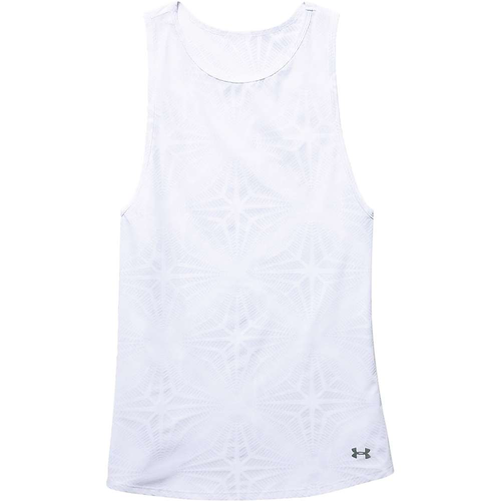 Under Armour Women's Coolswitch Muscle Tank - Large - White / Reflective