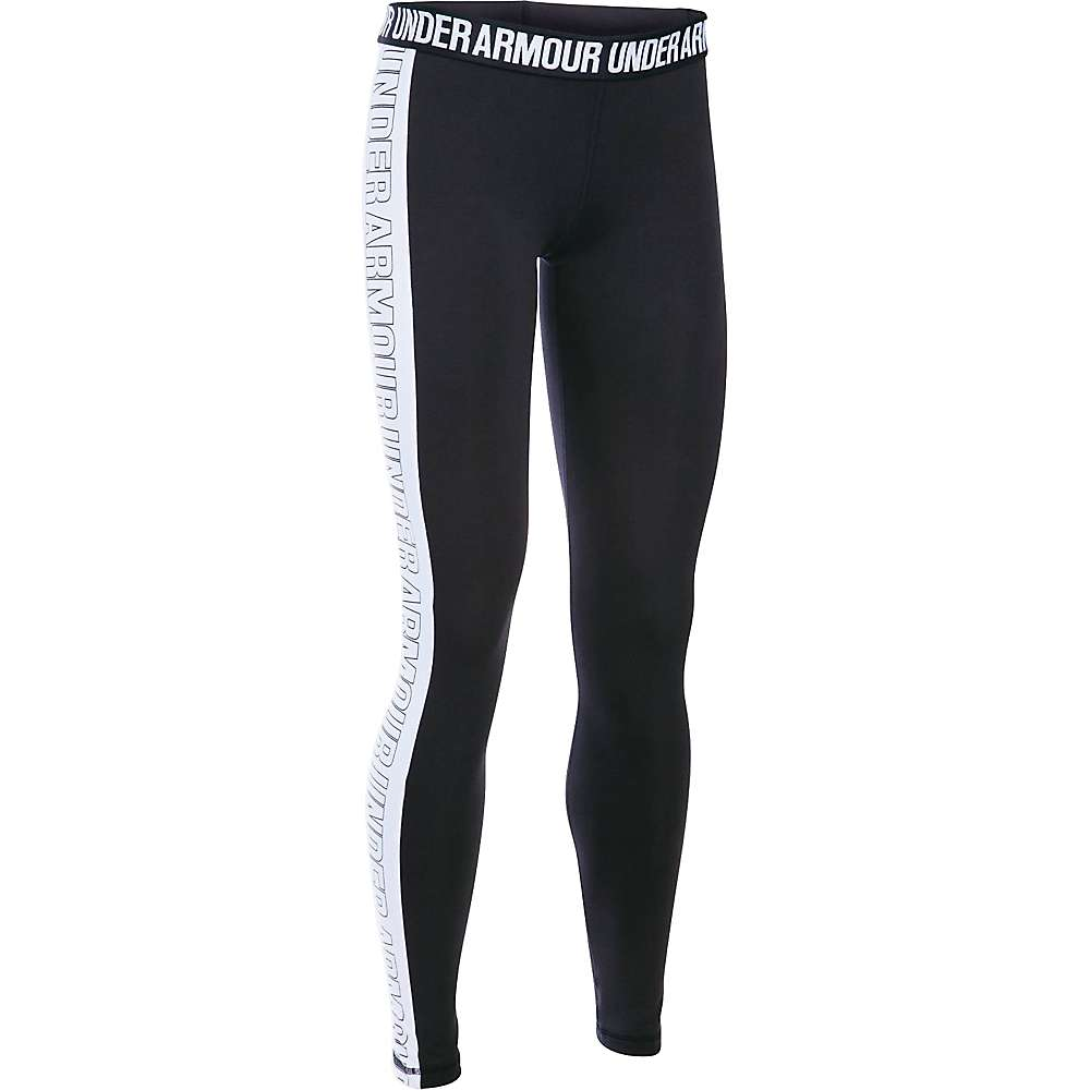 Under Armour Women's Favorite Graphic Legging - Medium - Black / White / Black