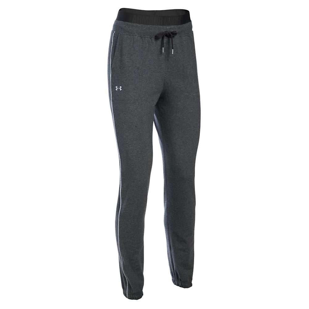 Under Armour Women's Favorite Skinny Jogger Pant - XL - Carbon Heather/Air Force Gray Hthr/Metallic Silver