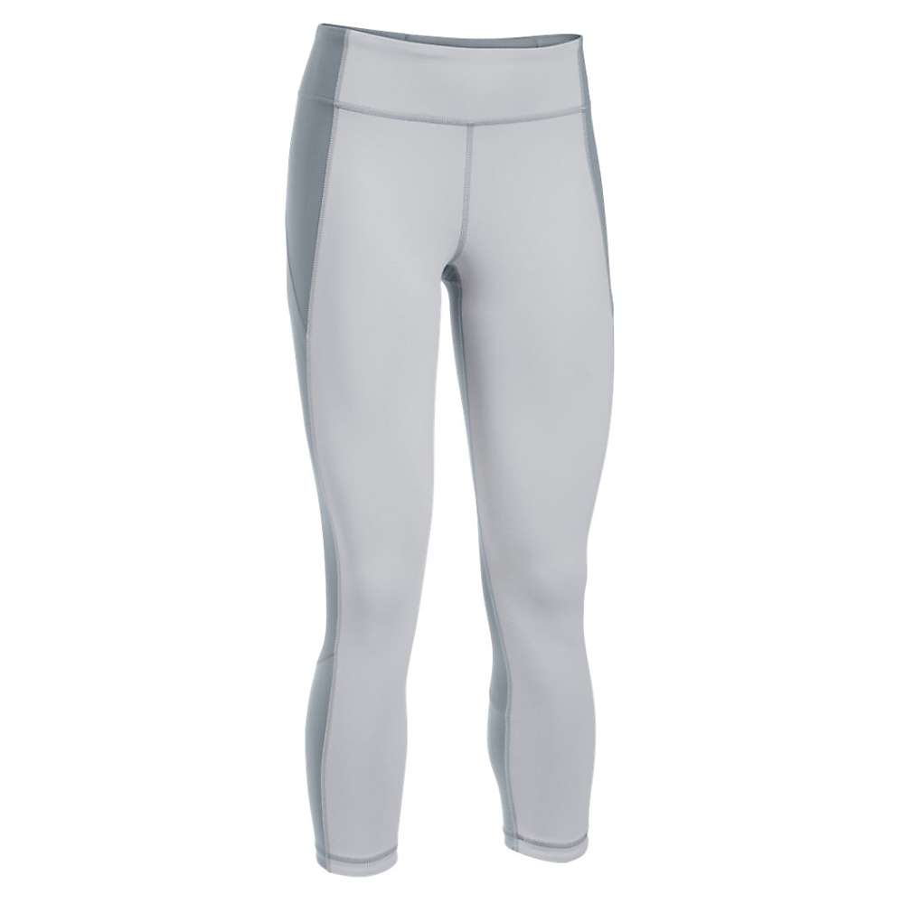 Under Armour Women's Mirror Crop - XS - Glacier Gray / Steel / Aluminum