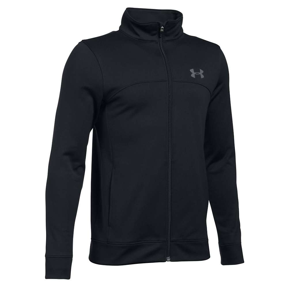Under Armour Boys' Pennant Warm Up Jacket - XS - Black / Graphite