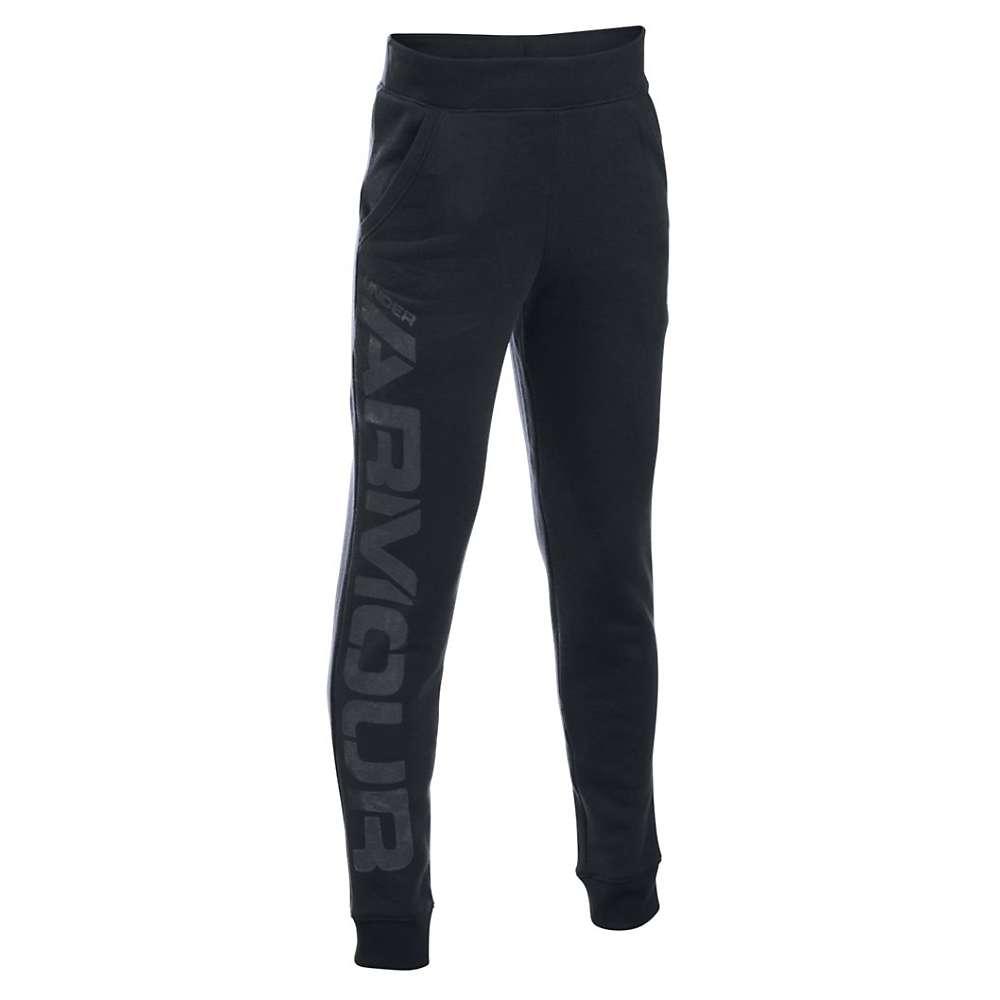 Under Armour Boys' Sportstyle Jogger Pant - XL - Black / Graphite