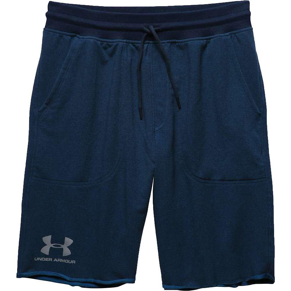 Under Armour Men's Sportstyle Terry Short - XL - Blackout Navy / Cadet / Steel