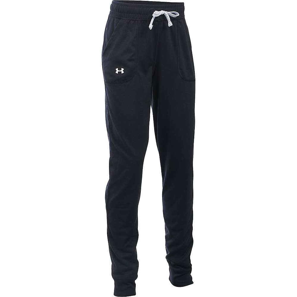 Under Armour Girls' Tech Jogger - XS - Black / White