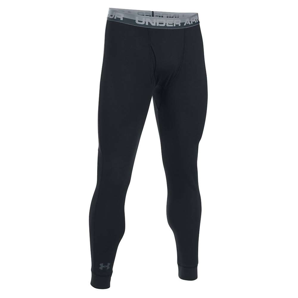 Under Armour Men's Thermal Legging - XL - Black / Stealth Gray