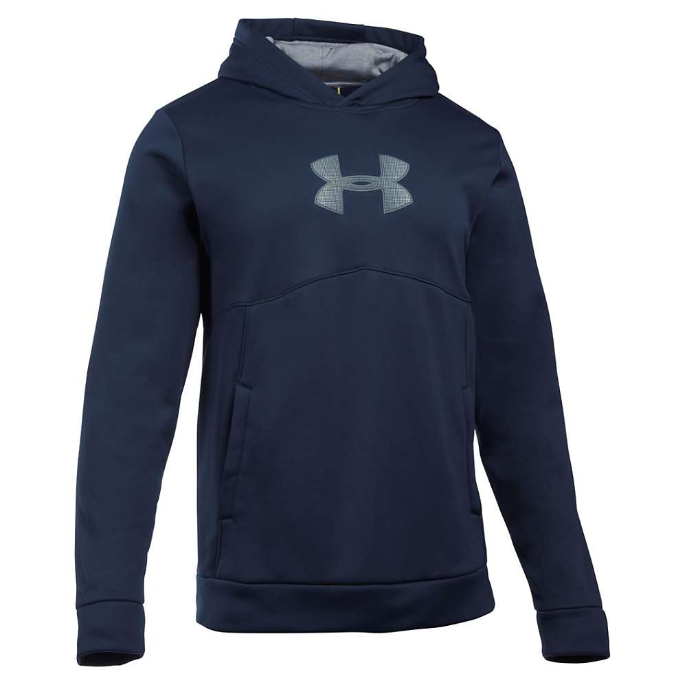 Under Armour Men's The New UA Logo Hoodie - XL - Midnight Navy / Steel / Midnight Navy