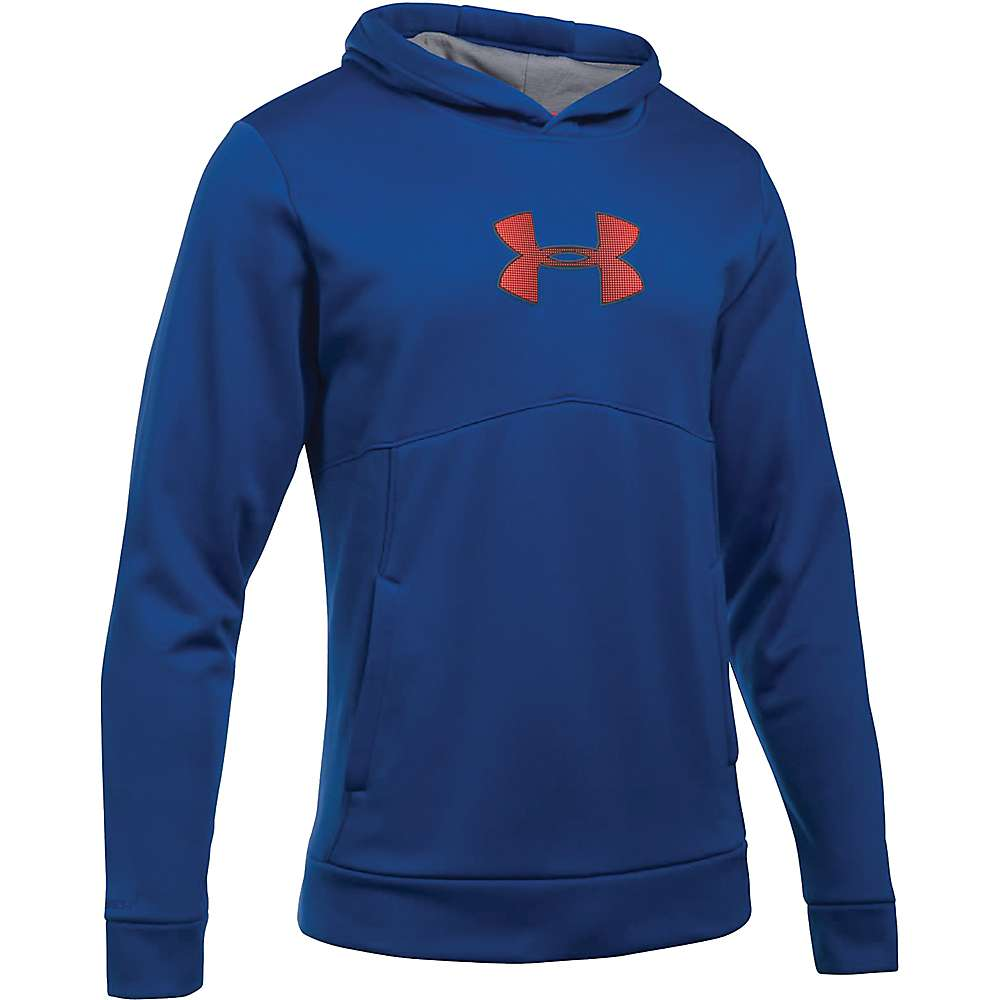 Under Armour Men's The New UA Logo Hoodie - Small - Royal / Steel / Stealth Gray