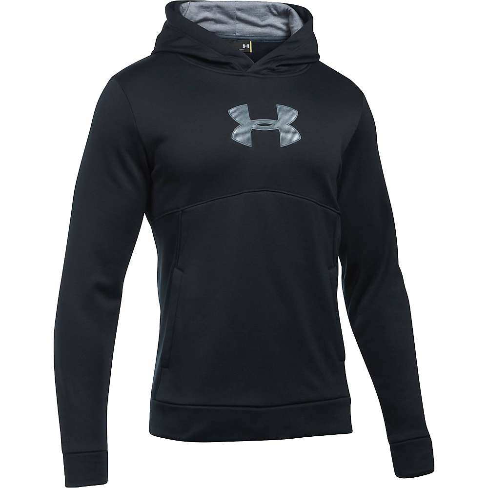 Under Armour Men's The New UA Logo Hoodie - XL - Black / Steel / Stealth Gray