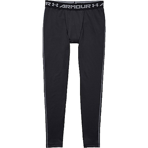 Under Armour Men's UA ColdGear Armour Legging Black / Steel thumbnail