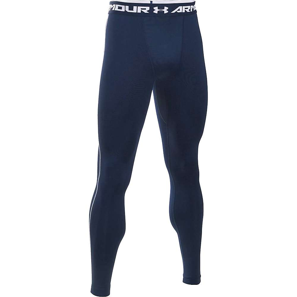 Under Armour Men's UA ColdGear Armour Legging - XL - Midnight Navy / Steel