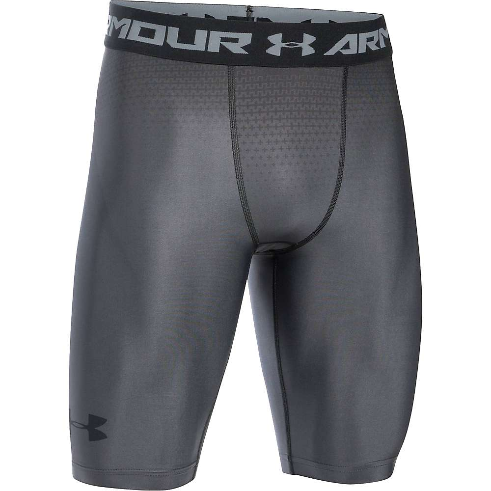 Under Armour Men's UA Charged Compression Short - XXL - Graphite / Stealth Gray / Black