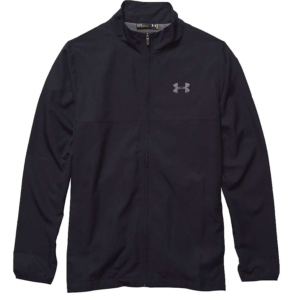 Under Armour Men's UA Vital Woven Warm-Up Jacket - Large - Black / Black / Graphite