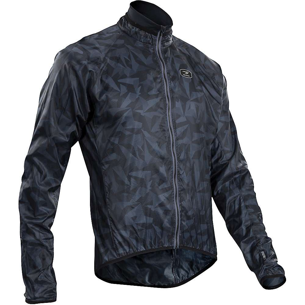Sugoi Men's RS Jacket - Small - Black Camo Print