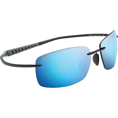 Maui Jim Kumu Polarized Sunglasses - Gloss Black/Blue Hawaii