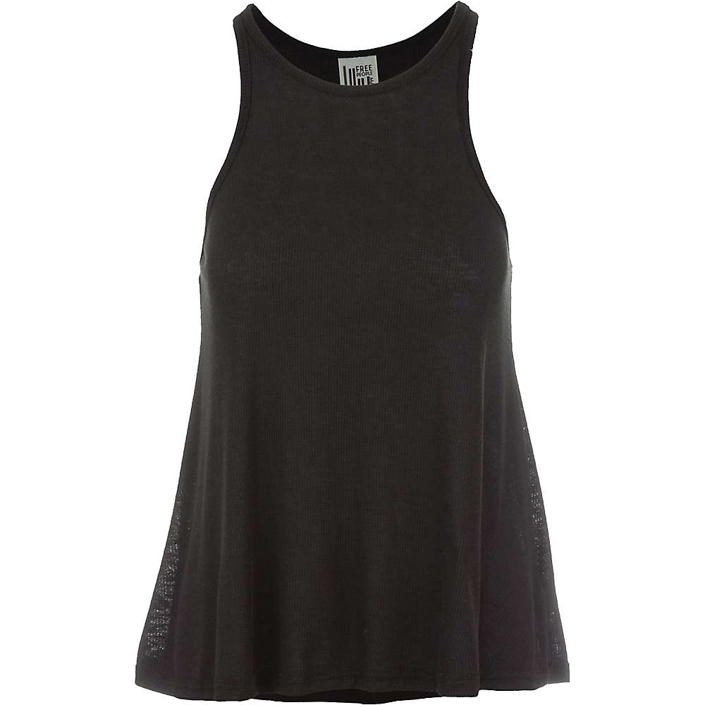 Free People Women's Long Beach Tank Top - Small - Black