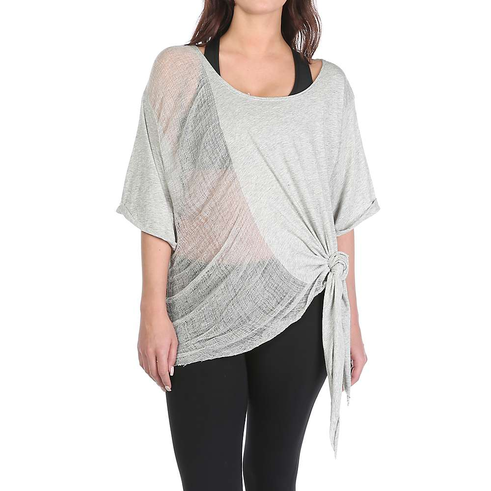 Free People Women's Shredded Tee - XS/S - Grey
