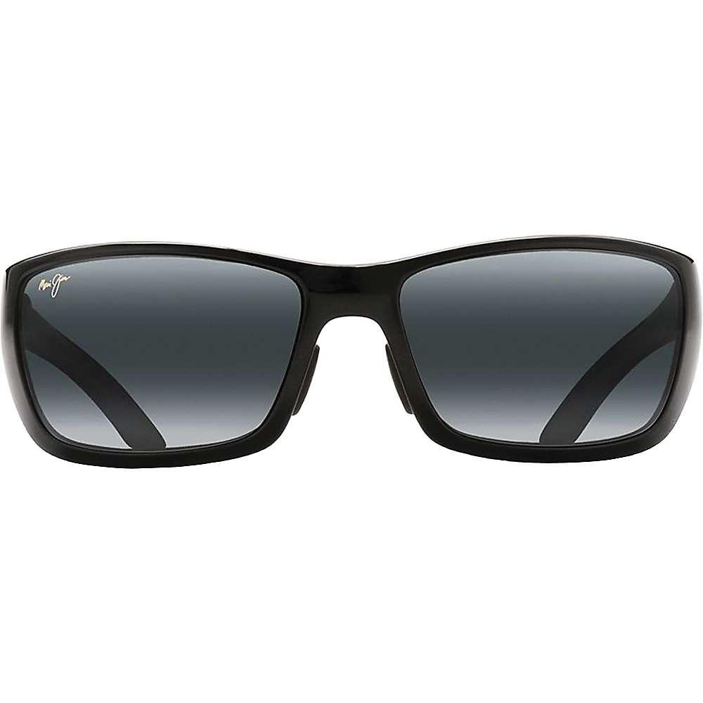 Maui Jim Canoes Polarized Sunglasses - One Size - Gloss Black / Neutral Grey