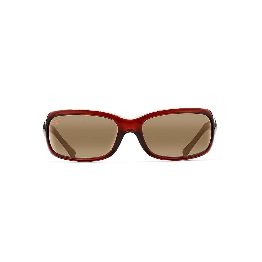 Maui Jim Lagoon Polarized Sunglasses - One Size - Dark Brown / HCL Bronze