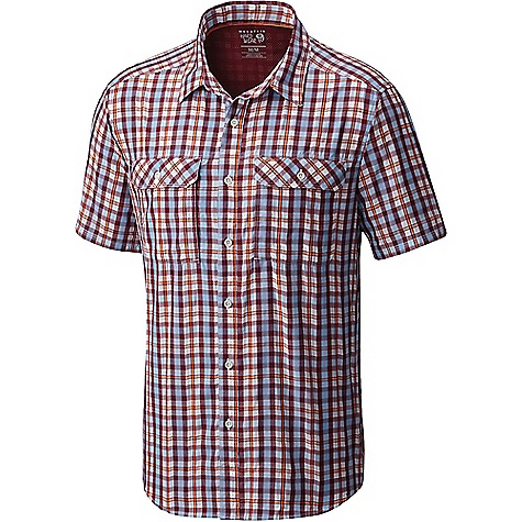 Mountain Hardwear Men's Canyon AC SS Shirt Cote Du Rhone Mountain Hardwear Men's Canyon AC SS Shirt - Cote Du Rhone - in stock now. FEATURES of the Mountain Hardwear Men's Canyon AC Short Sleeve Shirt Engineered perforation Sun collar Unique perforation patterns to deliver optimal airflow where you need it most