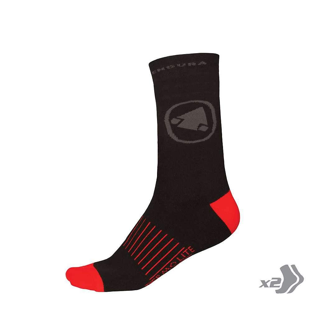 Endura Men's Thermolite II Sock - 2 Pack - S/M - Black