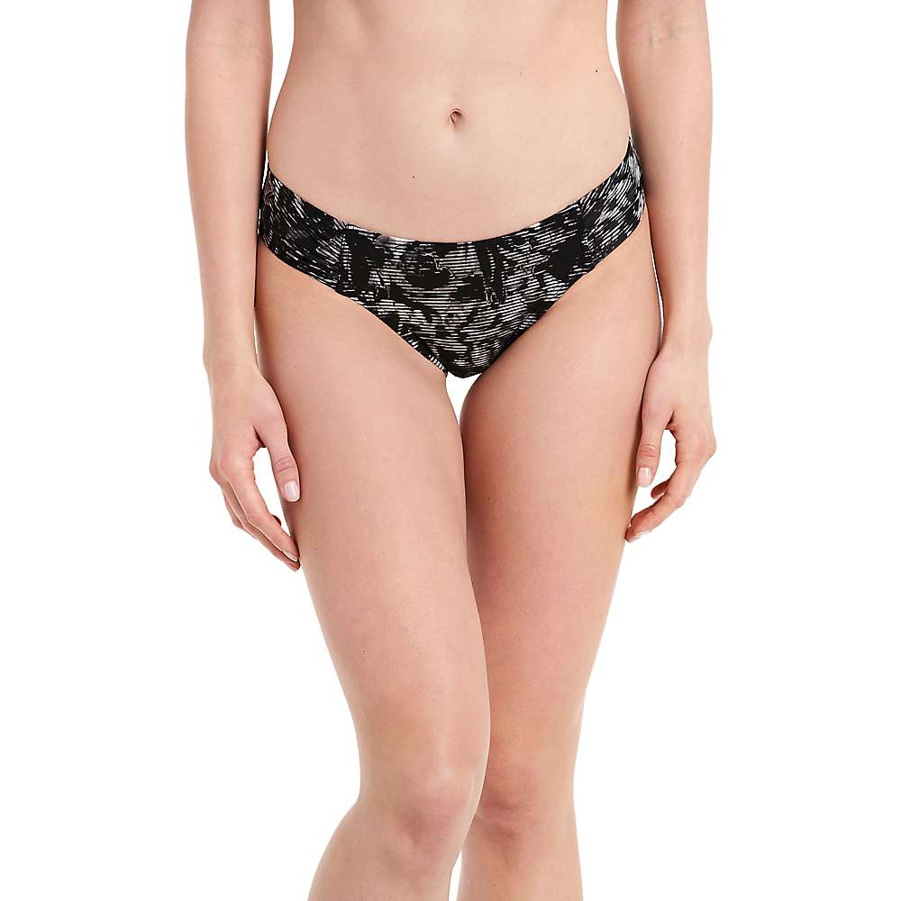 Lole Women's Caribbean Bottom - Large - Black Digifleur