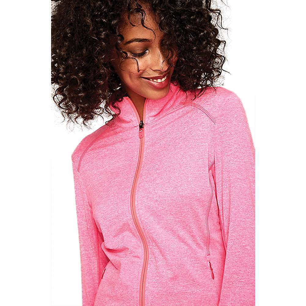 Lole Women's Essential Up Cardigan - Medium - Hot Pink Heather