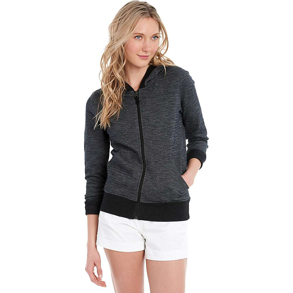 Lole Women's India Hooded Cardigan - Large - Black