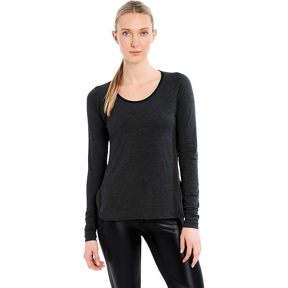 Lole Women's Kendra Top - Medium - Black Heather