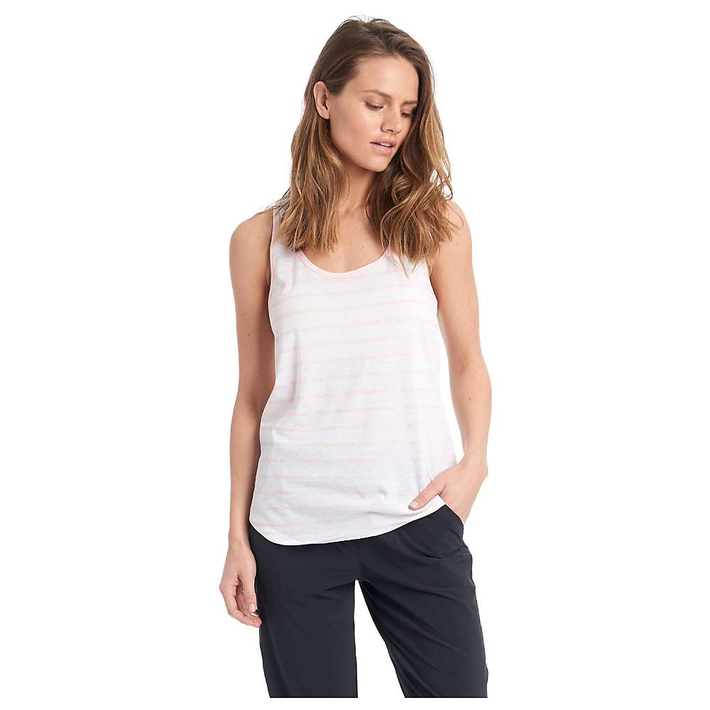 Lole Women's Lara Tank - Small - Sweet Pink Stripe