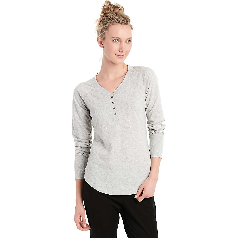 Lole Women's Lavana Top - Large - Light Grey Heather