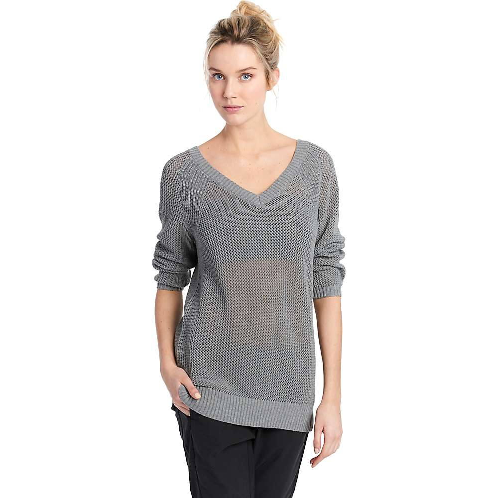 Lole Women's Mable Sweater - Large - Medium Grey Heather
