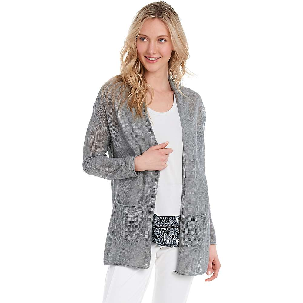 Lole Women's Marnie Cardigan - Large - Medium Grey Heather