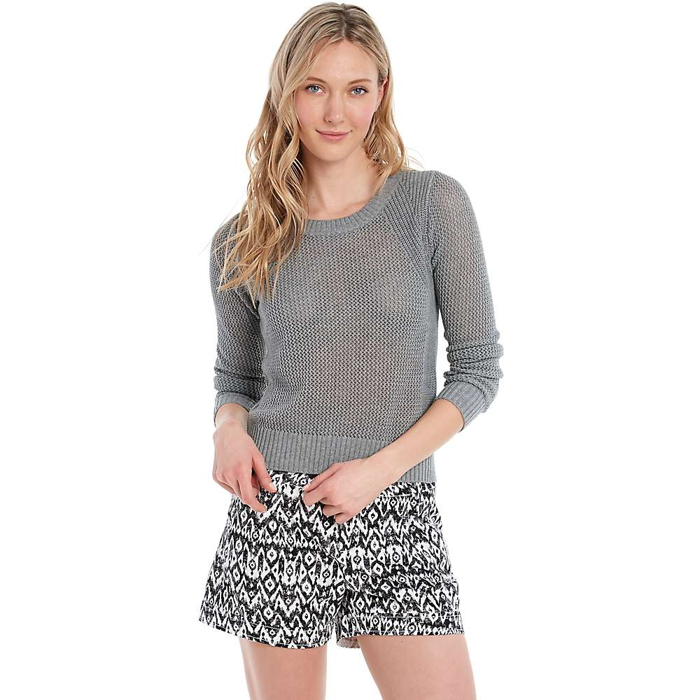 Lole Women's Monroe Sweater - Large - Medium Grey Heather