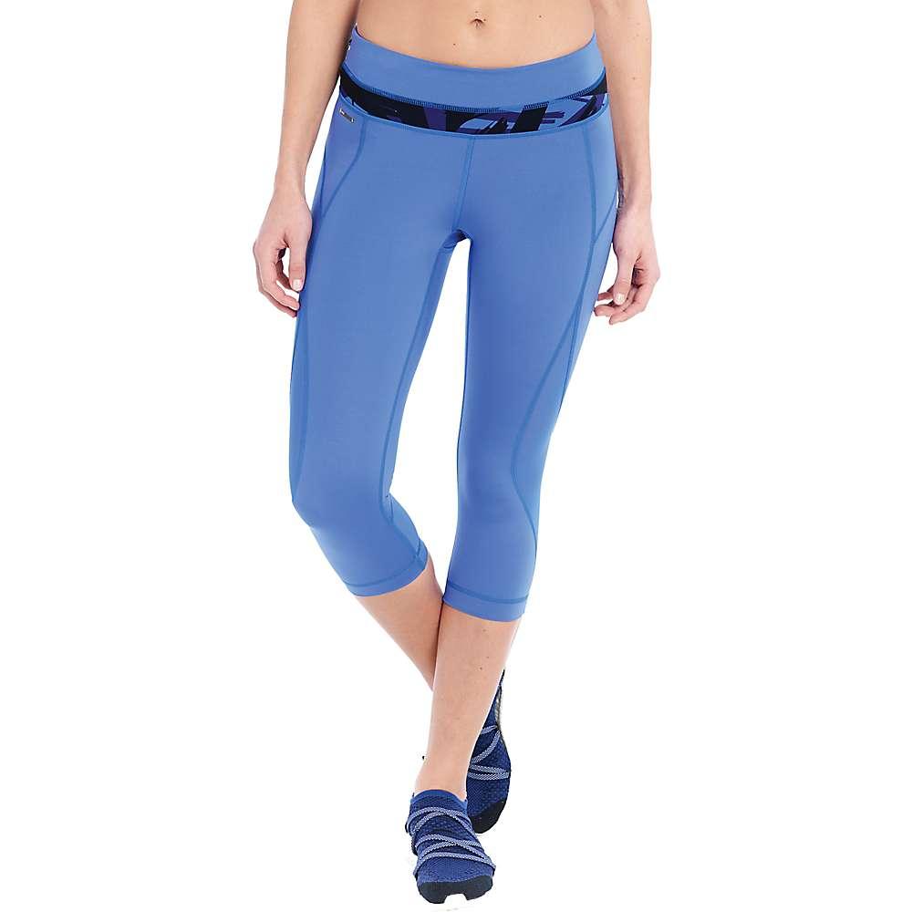 Lole Women's Run Capri - Large - Dazzling Blue