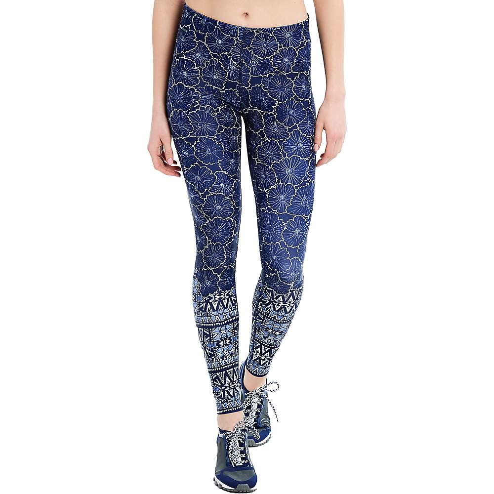 Lole Women's Sierra Legging - Medium - Dark Spectrum Floral Bliss