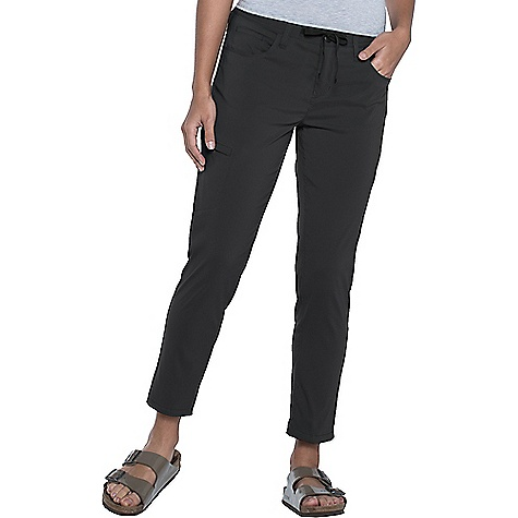 Toad & Co Women's Jetlite Crop Pant Black Toad & Co Women's Jetlite Crop Pant - Black - in stock now. FEATURES of the Toad & Co Women's Jetlite Crop Pant UPF rated excellent 50+ Quick-dry stretch Lightweight Bluesign approved fabric External draw cord Hidden zipper secure stash pocket at right leg Narrow straight leg